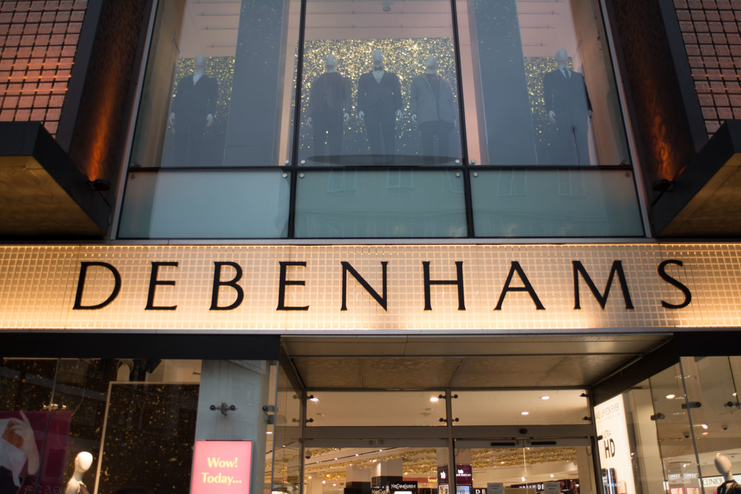 debenhams e-commerce