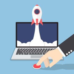 how to launch a new website